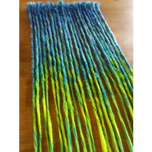 SHATUSH SAPPHIRA- BASE MIX vari BLUE + LUNGHEZZA NEON LIME
